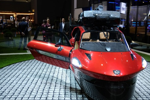 Take a look at the production version of the PAL-V Liberty flying car