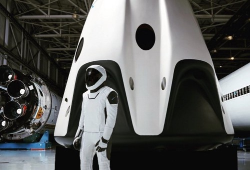 Elon Musk shares first full-body photo of SpaceX's spacesuit