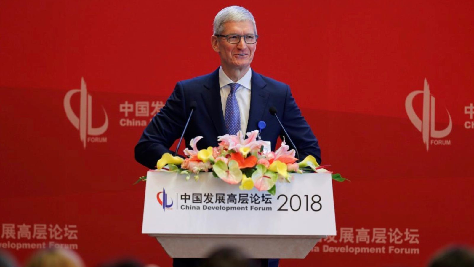 Tim Cook kicks off China Development Forum, talks trade war concerns and more