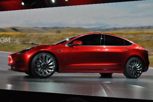 This is Tesla's Model 3