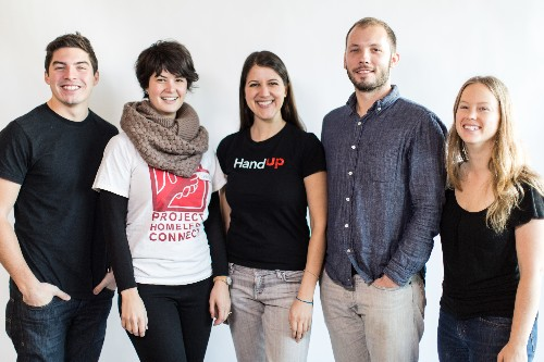 HandUp Raises $850K For A Platform That Lets Donors Lend A Hand To The Homeless