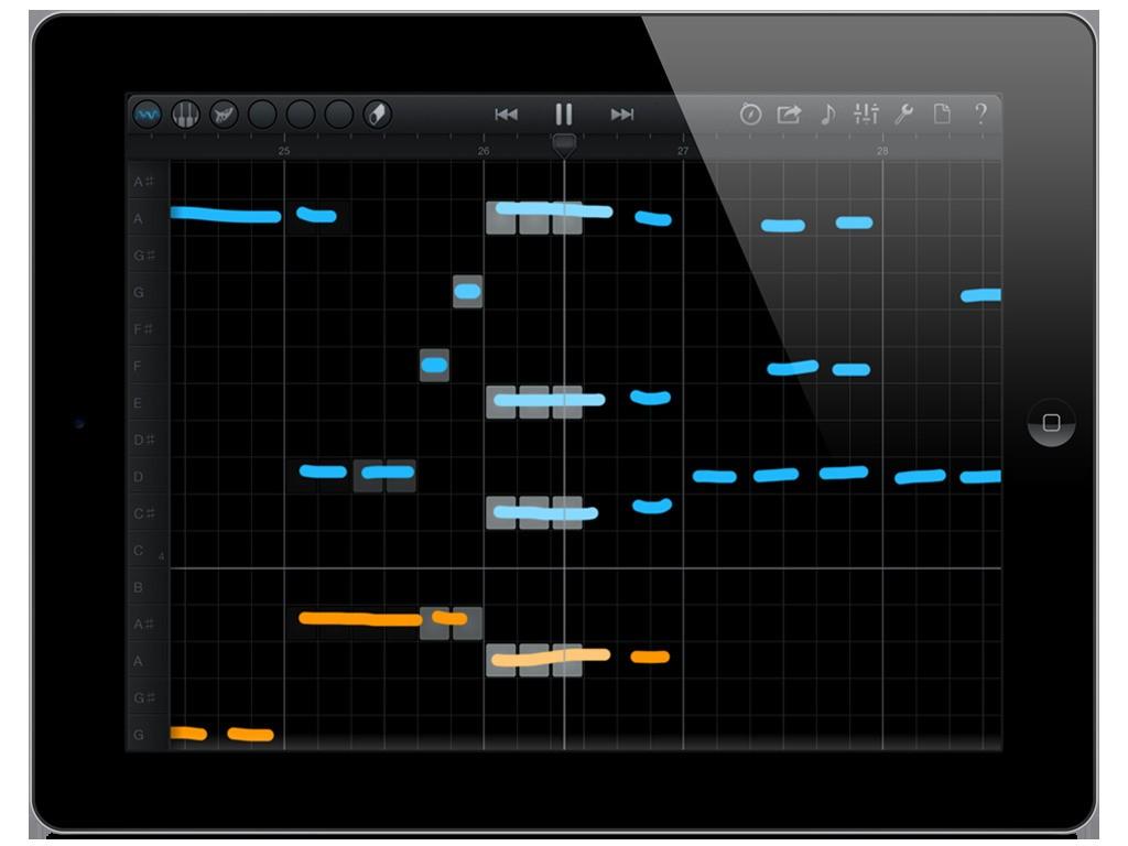 iPad Musik  - Magazine cover