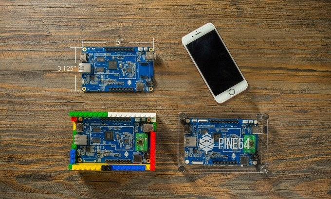 The Pine A64 Is A $15 PC With Endless Possibilities
