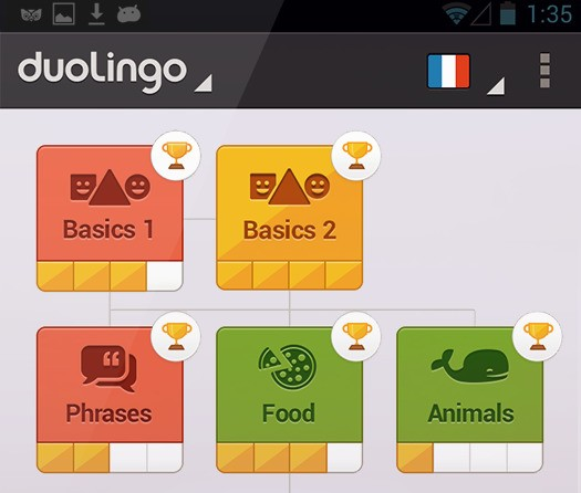 Free Language Learning Service Duolingo Comes To Android, Expects This Will Double Its User Base To Over 6M
