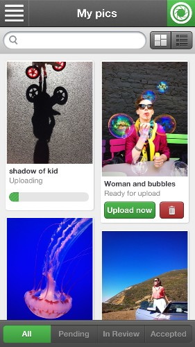 Stock Photos Site Fotolia Launches Fotolia Instant, An App For Selling Your Smartphone Photos