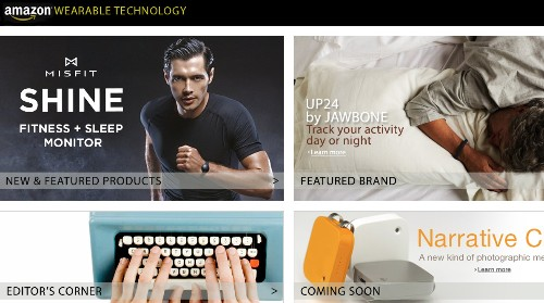 Amazon Debuts A Storefront Just For Wearable Tech