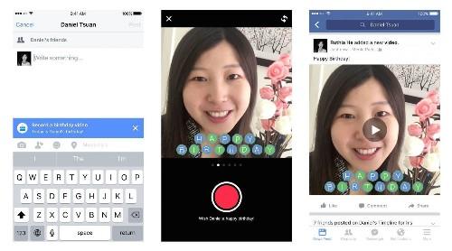 "Facebook ""Birthday Cam"" Encourages Videos, Not Robotic Wall Posts"