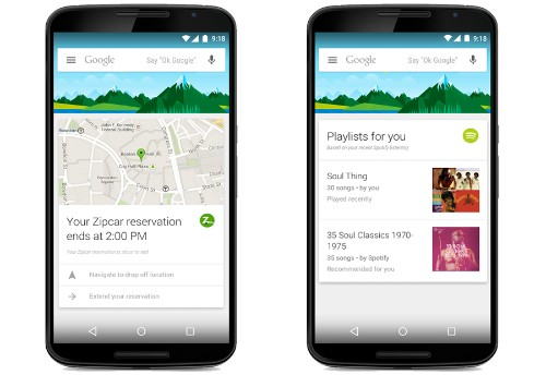 Google Turns On Google Now Cards For 70 New Apps