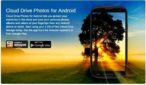 Amazon Cloud Drive Photos App Expands To Support Video Upload & Playback On Android