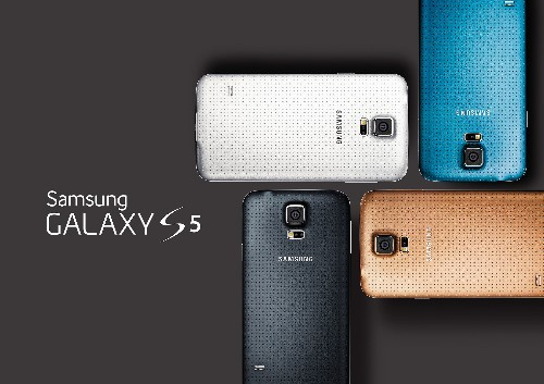 Samsung's Dust- And Water Resistant Galaxy S5 Gets Official With Heart Rate Monitor, Fingerprint Scanner