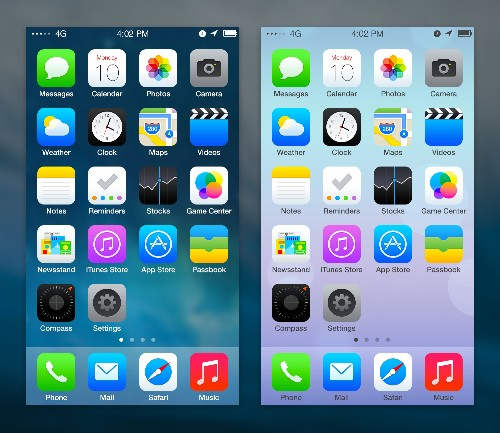 I Think We Can All Agree This Is Better Than Apple's iOS 7 Redesign, Right?