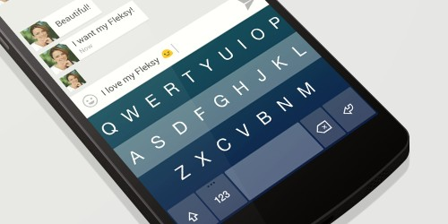 Fleksy Debuts Version 3.0 On Android, With A Complete Redesign And New Premium Features