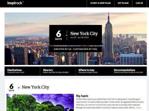 Inspirock Gets $3M Seed Funding To Make Vacation Itinerary Planning Easier