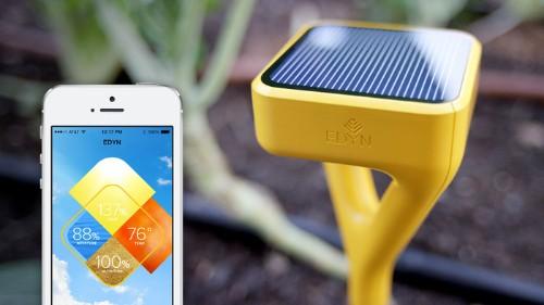 Smart Garden Sensor Edyn Moves Past Kickstarter Goals, Eyes Android