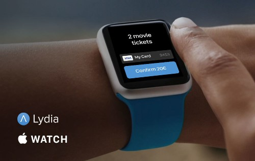 With Lydia, Pay For Your Online Purchases Using Your Apple Watch