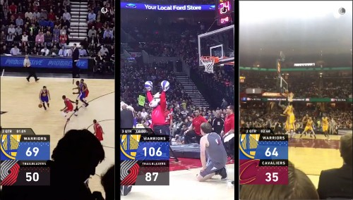 Snapchat Challenges Twitter And Facebook For Sports Talk