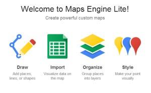 Google、Maps Engine Liteベータ版をリリース―高度なカスタム・マップが簡単に作れる
