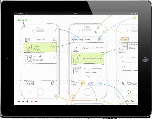 Pentotype Lets Developers Quickly Build And Collaborate On Interactive Wireframes From Their iPads