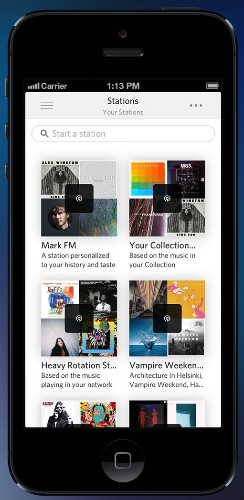 Rdio Hops On The Radio Bandwagon With Pandora-Style Stations Based On Your Friends