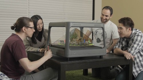 Holus Is A Tabletop Device That Turns Digital Media Into A 3D Hologram