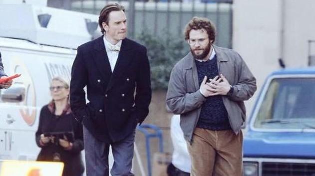 セス・ローゲンとマイケル・ファスベンダーのスティーブ・ジョブズ映画は、10月9日に封切り