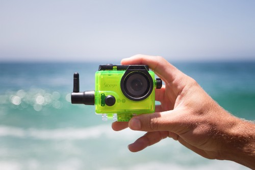 Sioeye Iris4G is an action camera with built-in cell service for live streaming