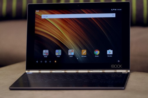 Lenovo's Yoga Book is a fascinating attempt to reinvent the hybrid tablet