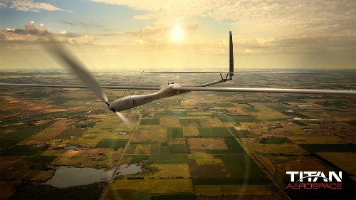 Facebook Looking Into Buying Drone Maker Titan Aerospace