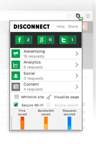 Disconnect, An Ex-Googler's Social Enterprise/Privacy Startup, Raises $3.5M, Extends To More Browsers