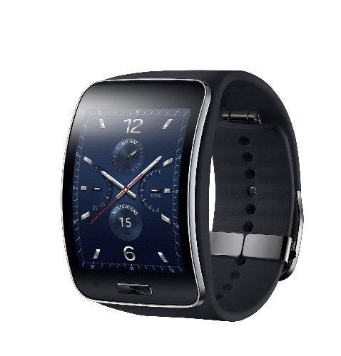 Samsung's New Gear S Smartwatch Features A Curved Screen And 3G Connectivity