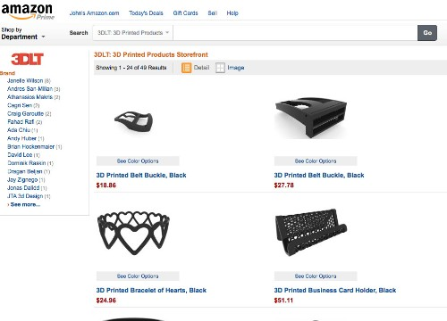 3D Marketplace 3DLT Talks About Selling The First 3D-Printed Gear On Amazon