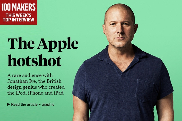Jony ive - Magazine cover