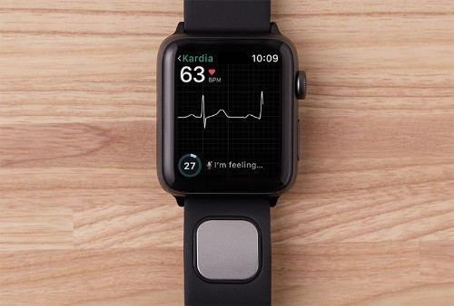 FDA clears AliveCor's Kardiaband as the first medical device accessory for the Apple Watch