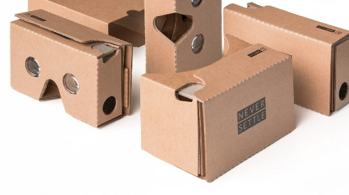Want Google's Cardboard VR Headset? OnePlus Is Giving Them Away For Free, If You Pay Shipping