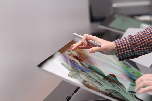 Hands-on with Microsoft's Surface Studio