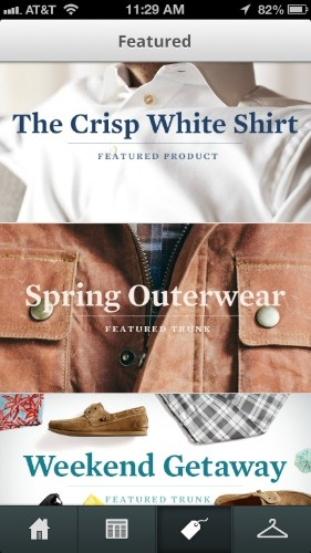 To Reach A Different Kind Of Shopper, Men's Styling Service Trunk Club Arrives On iPhone