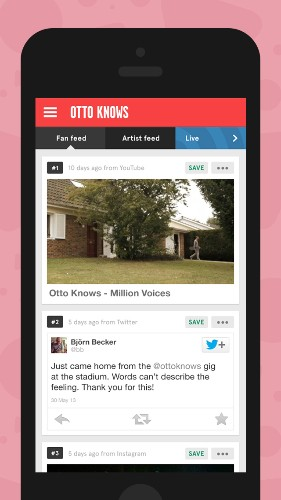 Seenth.is App Helps Music Fans Wrangle Their Favorite Artists' Multiple Social Media Feeds