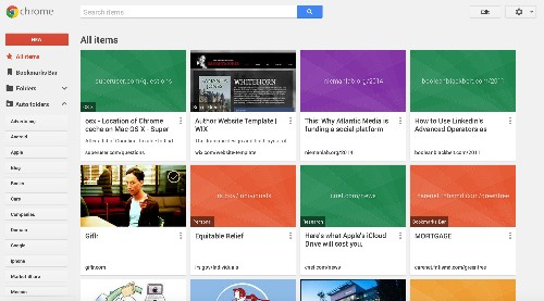 Google's New Bookmarking Service, Previously Called Stars, Has Gone Live
