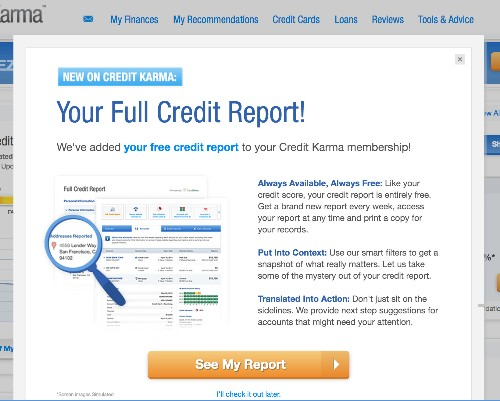 Credit Karma Rolls Out Free Weekly Credit Reports (Yes Really)
