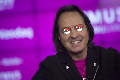 T-Mobile is giving its customers unlimited data to play Pokemon Go an unlimited amount
