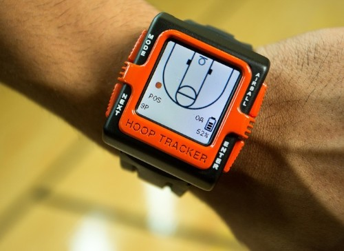 Hoop Tracker Basketball Smartwatch Provides Automatic, Real-Time Shot Tracking