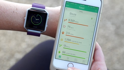 Fitbit Blaze is a whole workout in a wearable