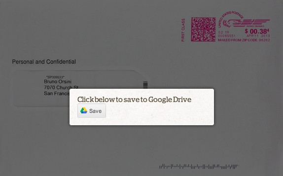 "Google's New ""Save To Drive"" Button Lets Website Visitors Save Files To Google's Online Storage"