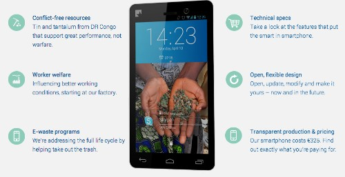 The Fairphone, World's First Ethically Sourced Smartphone, Opens Pre-Sales To General Public