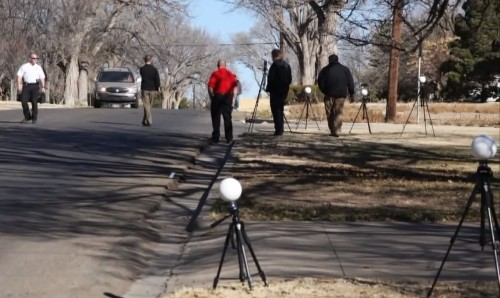 Police Using 3D Scanners For Panoramic Crime Scene Analysis