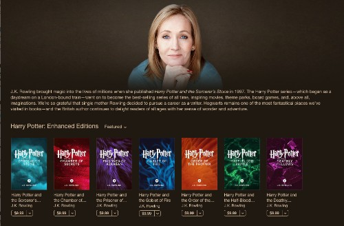 Harry Potter Enhanced Books Come To iBooks With Exclusive Animations And Author Notes