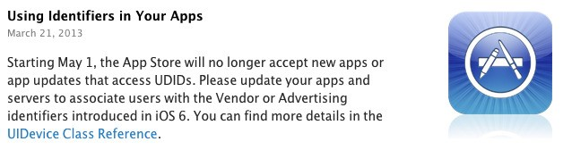 iOS 7 Eliminates MAC Address As Tracking Option, Signaling Final Push Towards Apple's Own Ad Identifier Technology