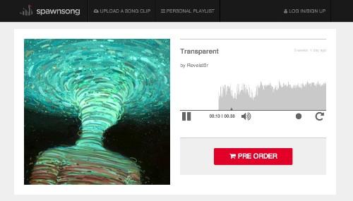 Music Startup Spawnsong Wants To Be Kickstarter For Single Tracks