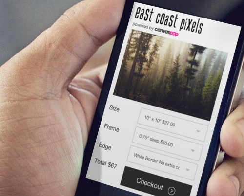CanvasPop Lets Any Photo App Sell Framed Prints To Make Money