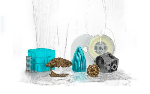 3D Systems Releases New Filament That Dissolves In Water
